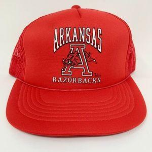 Vintage Arkansas Raorbacks Mesh Snapback